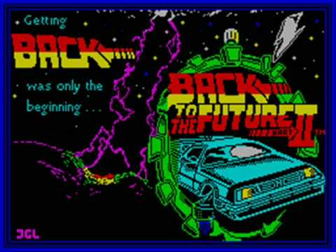 Back to the Future Part II Spectrum Title Music