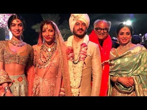 Last pictures of Sridevi at a wedding in Dubai