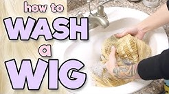 HOW TO WASH A WIG | Alexa's Wig Series #4
