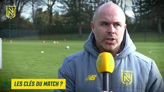VIDEO: Gambardella : Stéphane Ziani avant Evreux - FC Nantes