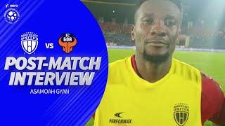 NorthEast United FC's Asamoah Gyan After The Draw Against FC Goa | Hero ISL 2019-20