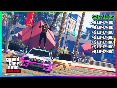 $1,347,400 PER MINUTE SOLO GTA 5 MONEY GLITCH.. (unlimited money)