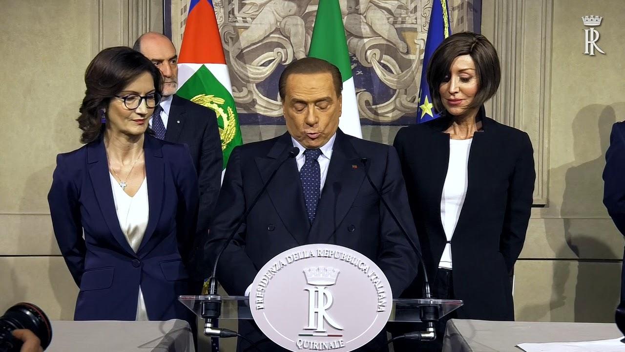 consultazioni gruppi forza italia berlusconi