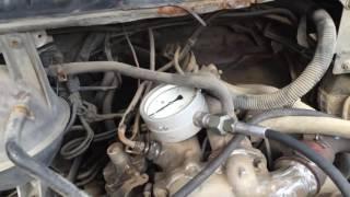 Форд Транзит 2.5 тди переделанный на механику тнвд VE настройка надув 1.3 бара разгон 21.8 сек