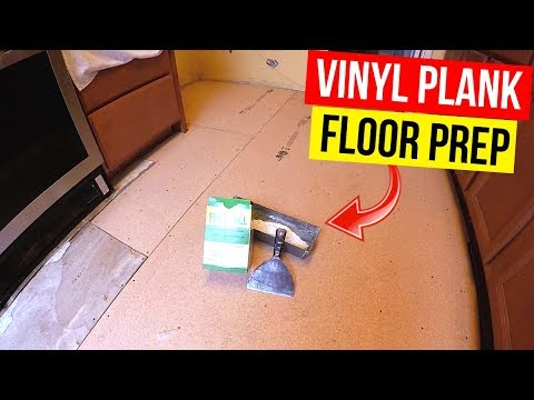 How To Prep your Subfloor for Vinyl Plank Flooring -Jonny DIY