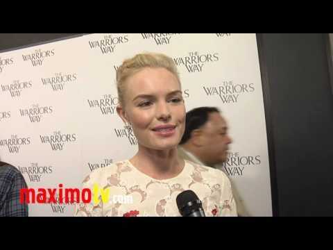 "KATE BOSWORTH Interview at ""The Warrior's Way"" Los Angeles Screening"