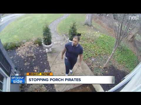 Porch pirates strike Northeast Ohio again