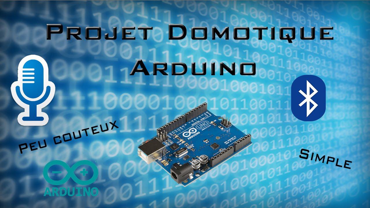 Beliebt Projet Domotique Arduino Reconnaissance vocale | Simple, Peux  IP12