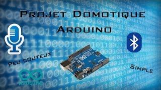 Projet Domotique Arduino Reconnaissance vocale | Simple, Peux couteux #1