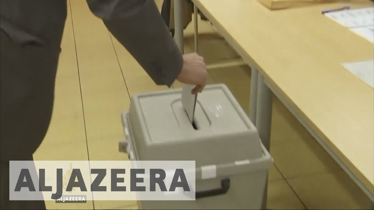 Merkel's party wins state election as German election starts
