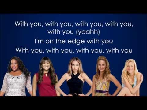 Glee - The Edge Of Glory (Lyrics)