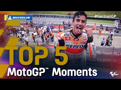 Top 5 MotoGP™ Moments by Michelin  2021 #GermanGP