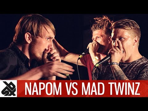 NAPOM vs MAD TWINZ | Fantasy Battle | World Beatbox Camp