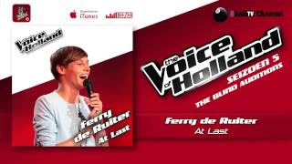Ferry de Ruiter - At Last (The voice of Holland 2014 The Blind Auditions Audio)