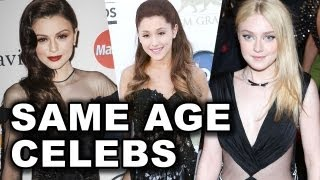 Celebrities Who Are The Same Age - Ariana Grande, Zac Efron, Emma Stone, Cher Lloyd