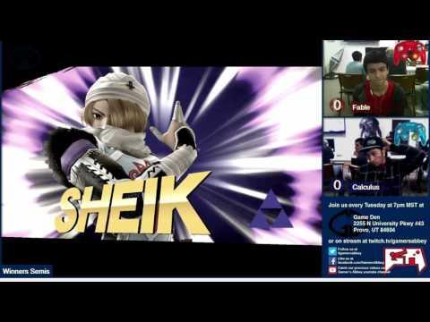 [2015-10-27] Smash Den Weekly - Wii U - Fable vs Calculus |