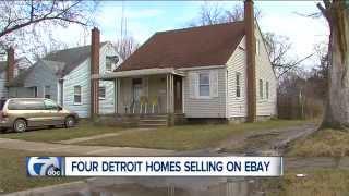 Detroit Homes For Sale on eBay