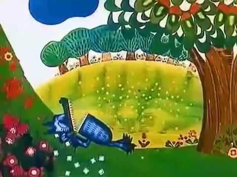Мультфильм какое небо синее какое все зеленое