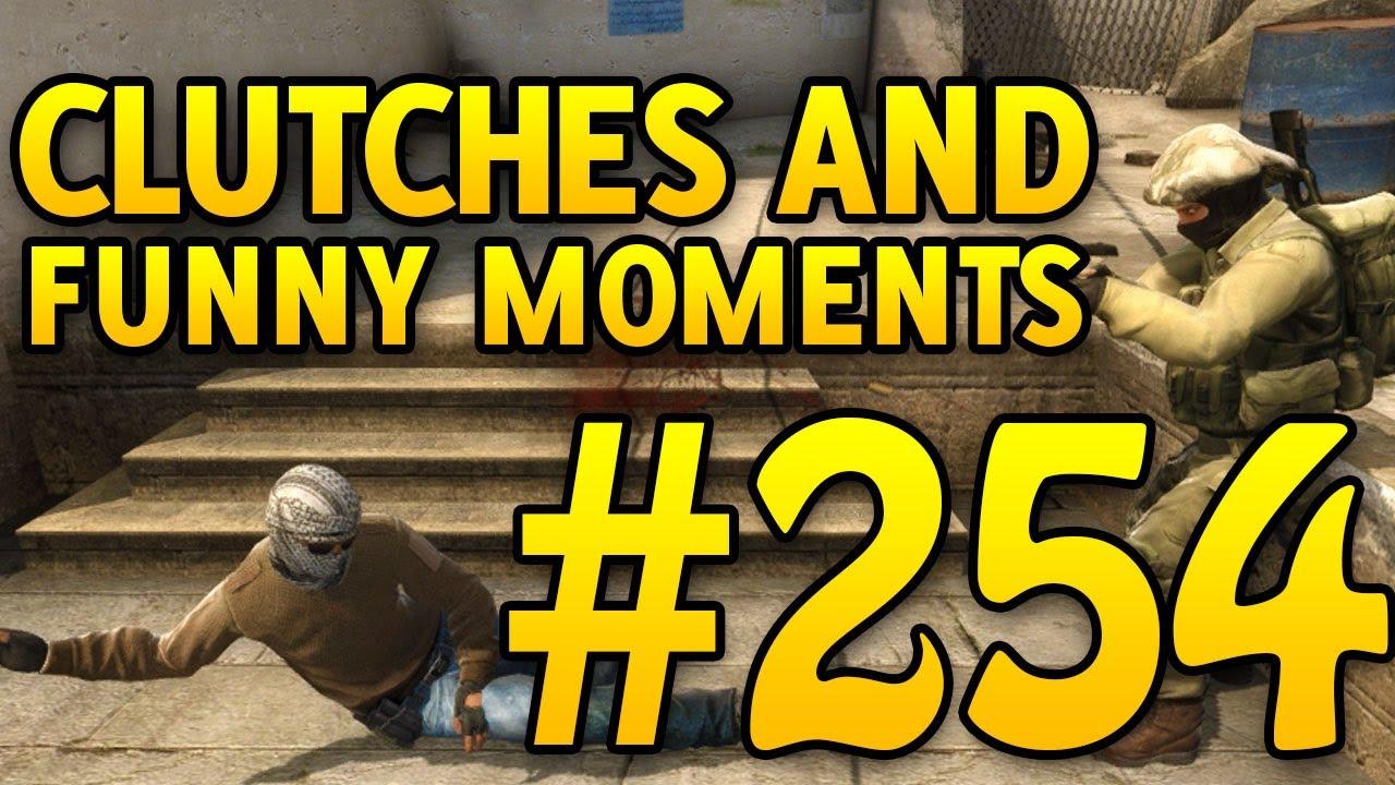 Embreagens do CSGO e momentos engraçados # 254 + vídeo