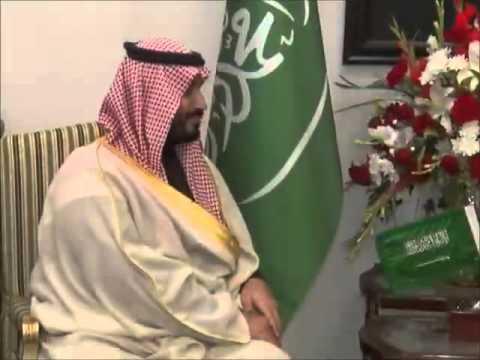 Minister of Defence of Kingdom of Saudi Arabia HRH Mohammad Bin Salman Al Saud warmly received by Pr
