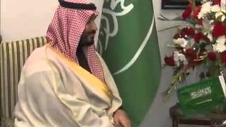 Minister of Defence of Kingdom of Saudi Arabia HRH Mohammad Bin Salman Al Saud warmly received by Pr