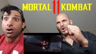 MORTAL KOMBAT 11 Trailer [REACTION]