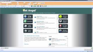 Using Bet Angel - Selecting a market to trade