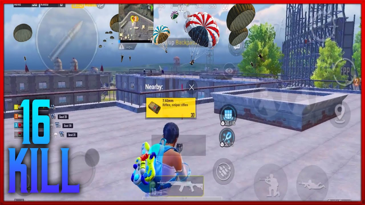 Download Everyone Landed In Military base 😱   PUBG MOBILE