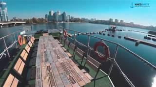 Аренда катера Куба Либре в Киеве для прогулки по Днепру (обзор катера)