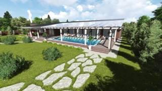 видео Дом под ключ с бассейном во Власово