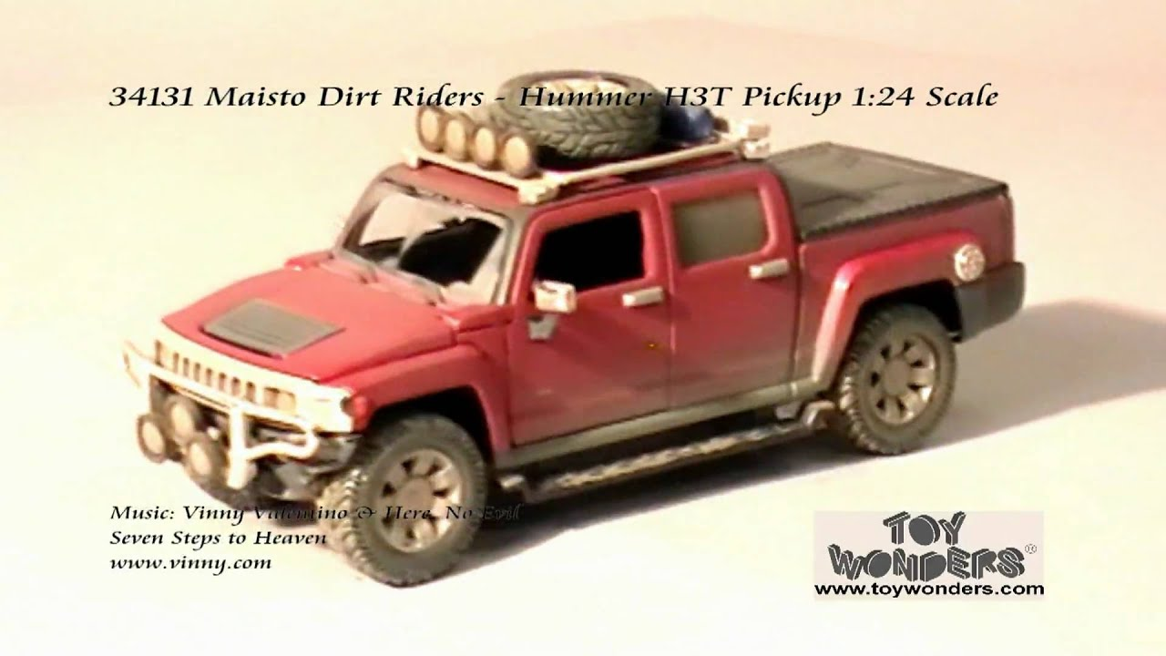 Maisto Dirt Riders Hummer H3T Pickup 124 Diecast Wholesale