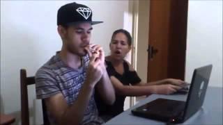 Trollando a Mãe Fingindo que Tava Fumando Maconha Veja que Deu!