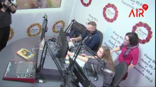 Антон Мухарський на радіо FM Галичина