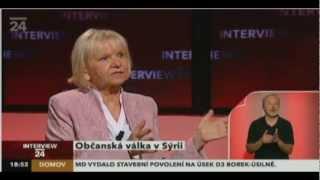 Česká velvyslankyně v Sýrii - Pravda o mediálních lžích.