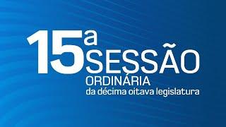 15ª Sessão Ordinária da Décima Oitava Legislatura - TV CÂMARA ITANHAÉM