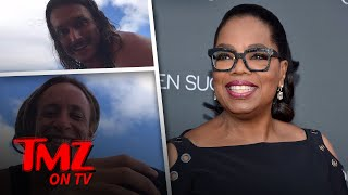 Oprah Gets Stretched Out By Two Hot Dudes | TMZ TV