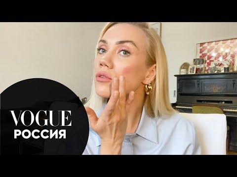 Елена Крыгина показывает, как накраситься для важных звонков в Zoom | Звезды на карантине