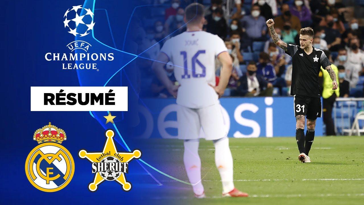 Download 🏆 Résumé - Champions League : le Sheriff Tiraspol braque le Real Madrid !