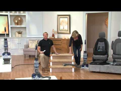 Oreck Revitalize Deluxe Carpet Cleaner with DuoScrub with Rick Domeier