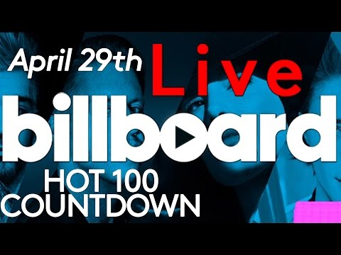 LIVE! Billboard Hot 100 Top 10 Official Countdown: April 29th Early Release!