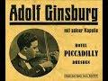 ADOLF GINSBURG - ICH HABE LEIDER KEIN VERMOEGEN - 1930
