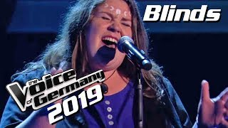 Bosse - Steine (Judith Jensen) | The Voice of Germany 2019 | Blinds