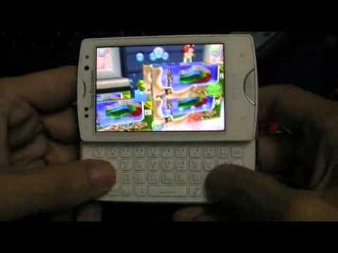 SE Xperia mini pro 3D Game
