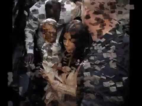 Kim Kardashian and husband Kanye West visited a centuries old Armenian church in Jerusalem on Monday