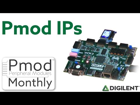 Pmod Monthly - October 2016 - How to use Pmod IPs with FPGA and Zynq
