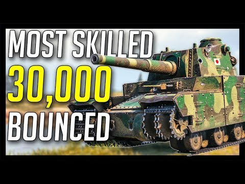 ► Most Skilled 30,000 Bounced! :O - World of Tanks Type 5 Heavy Gameplay