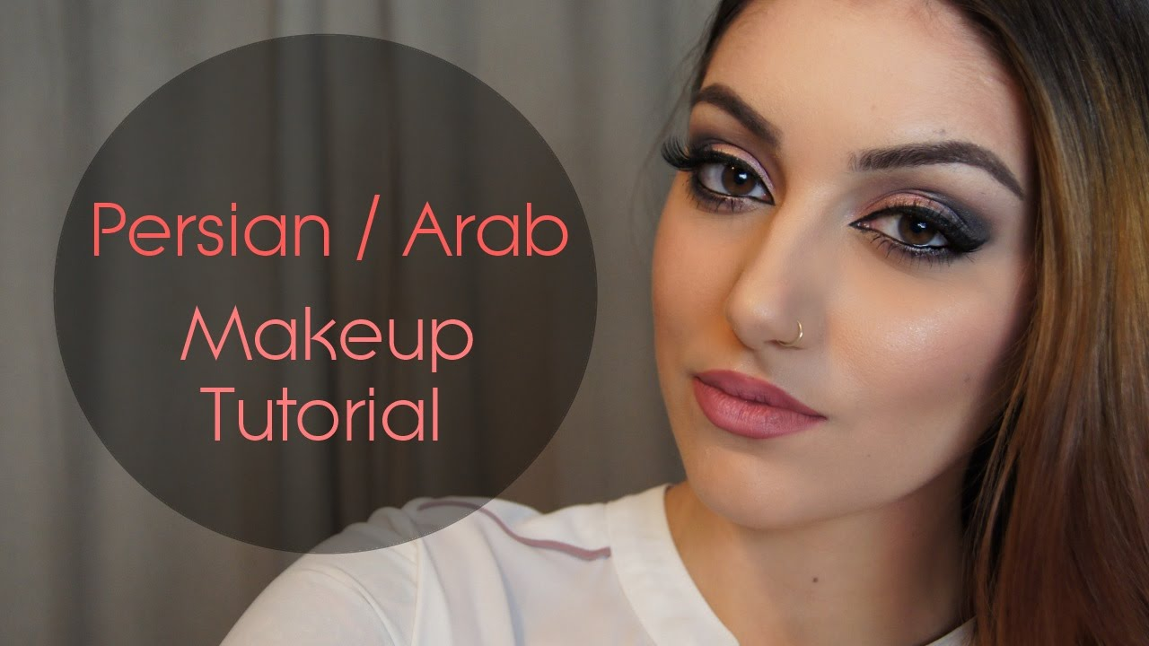 Persian / Arab makeup tutorial - YouTube
