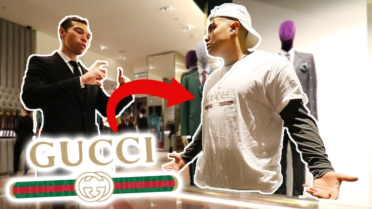 4459265e WEARING FAKE GUCCI TO BUY REAL GUCCI IN NYC!! - YouTube