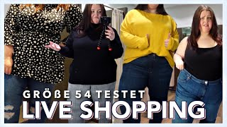 LIVE SHOPPING GRÖßE 54 | Yours Clothing + H&M | Trends 2019? | Vanessa Nicole