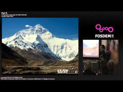 FOSDEM 2015 - Developer Room - Perl - Erl6 For Mortals